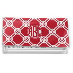 Celtic Knot Vinyl Checkbook Cover (Personalized)
