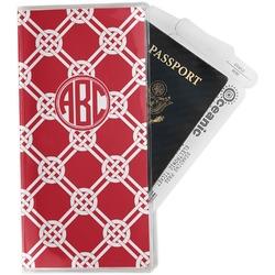 Celtic Knot Travel Document Holder