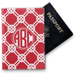 Celtic Knot Vinyl Passport Holder (Personalized)