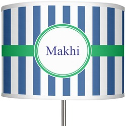 """Stripes 13"""" Drum Lamp Shade (Personalized)"""