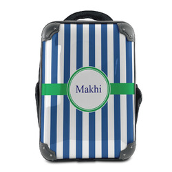Stripes Hard Shell Backpack (Personalized)