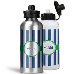 Stripes Water Bottles- Aluminum (Personalized)