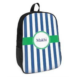 Stripes Kids Backpack (Personalized)