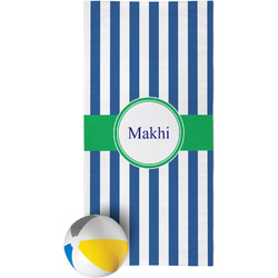 Stripes Beach Towel (Personalized)