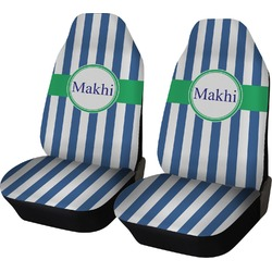 Stripes Car Seat Covers (Set of Two) (Personalized)