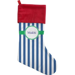 Stripes Christmas Stocking (Personalized)