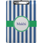 Stripes Clipboard (Personalized)