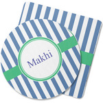 Stripes Rubber Backed Coaster (Personalized)