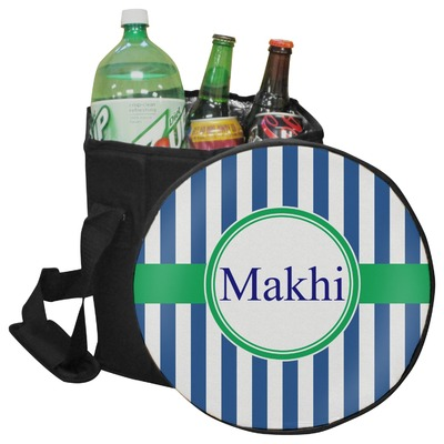 Stripes Collapsible Cooler & Seat (Personalized)