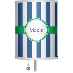 """Stripes 7"""" Drum Lamp Shade (Personalized)"""