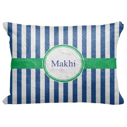"Stripes Decorative Baby Pillowcase - 16""x12"" (Personalized)"