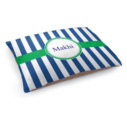 Stripes Dog Pillow Bed (Personalized)