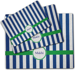 Stripes Dog Food Mat w/ Name or Text