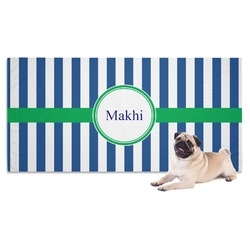 Stripes Pet Towel (Personalized)