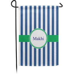 Stripes Garden Flag - Single or Double Sided (Personalized)