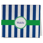 Stripes Kitchen Towel - Full Print (Personalized)