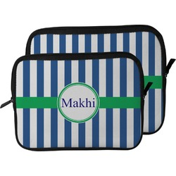Stripes Laptop Sleeve / Case (Personalized)