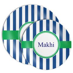 Stripes Melamine Plate (Personalized)