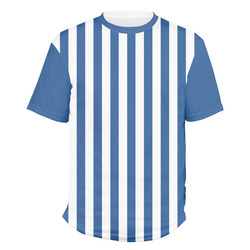 Stripes Men's Crew T-Shirt (Personalized)