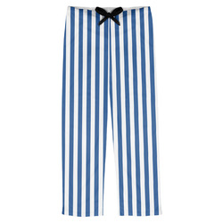 Stripes Mens Pajama Pants (Personalized)