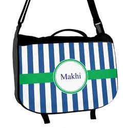 Stripes Messenger Bag (Personalized)