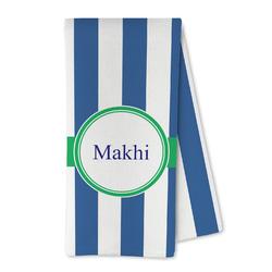 Stripes Microfiber Kitchen Towel (Personalized)