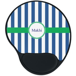 Stripes Mouse Pad with Wrist Support