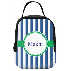 Stripes Neoprene Lunch Tote (Personalized)