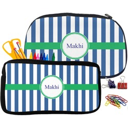 Stripes Pencil / School Supplies Bag (Personalized)