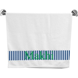 Stripes Bath Towel (Personalized)