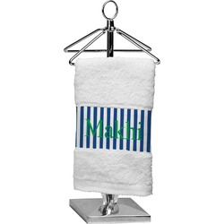 Stripes Finger Tip Towel (Personalized)