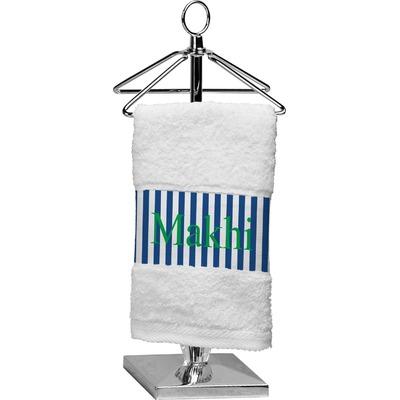 Stripes Finger Tip Towel (Personalized)