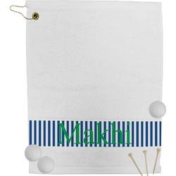 Stripes Golf Towel (Personalized)