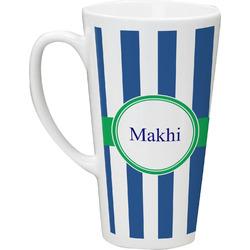 Stripes Latte Mug (Personalized)