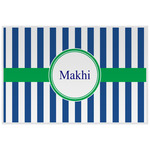 Stripes Laminated Placemat w/ Name or Text