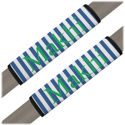 Stripes Seat Belt Covers (Set of 2) (Personalized)