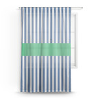 Stripes Sheer Curtains (Personalized)