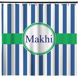 Stripes Shower Curtain (Personalized)