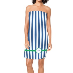 Stripes Spa / Bath Wrap (Personalized)
