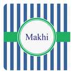 Stripes Square Decal (Personalized)