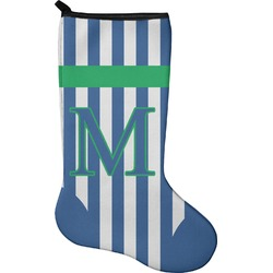 Stripes Christmas Stocking - Neoprene (Personalized)