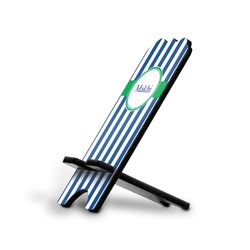 Stripes Stylized Phone Stand (Personalized)