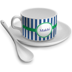 Stripes Tea Cup - Single (Personalized)