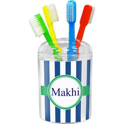 Stripes Toothbrush Holder (Personalized)
