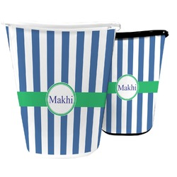 Stripes Waste Basket (Personalized)