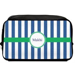 Stripes Toiletry Bag / Dopp Kit (Personalized)