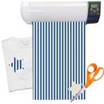 Stripes Heat Transfer Vinyl Sheet (12