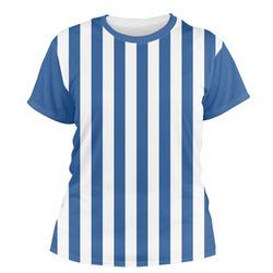 Stripes Women's Crew T-Shirt (Personalized)
