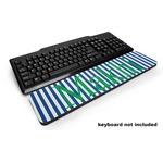 Stripes Keyboard Wrist Rest (Personalized)