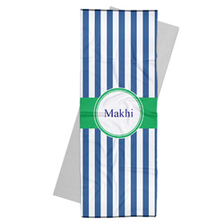 Stripes Yoga Mat Towel (Personalized)